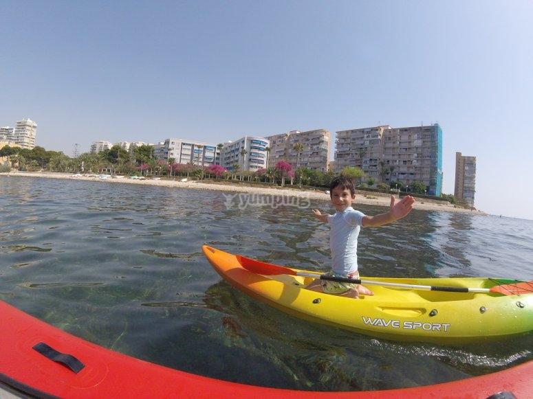 Navegar en kayak