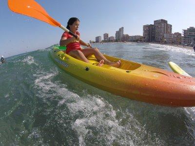 Alquilar kayak individual en El Campello 1 hora