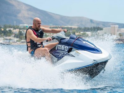 Moto acuática biplaza en circuito Tenerife 20 min