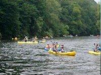 Canoas en el rio Sella