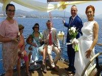Una boda a bordo de nuestro velero
