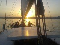 Las mejores puestas de sol navegando