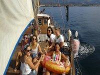 Día de chicas en alta mar