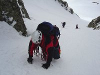 Winter climbing in Corredor