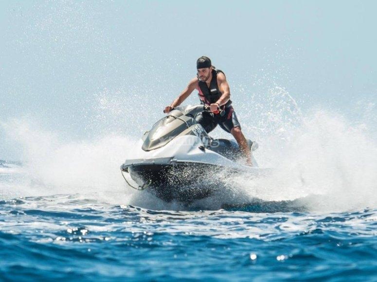 滑水会议摩托车摩托艇滑水