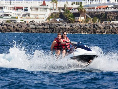 40-min Ride a 2-seater  water scooter in Tenerife
