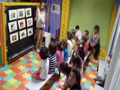 No-school day in Leganés playroom