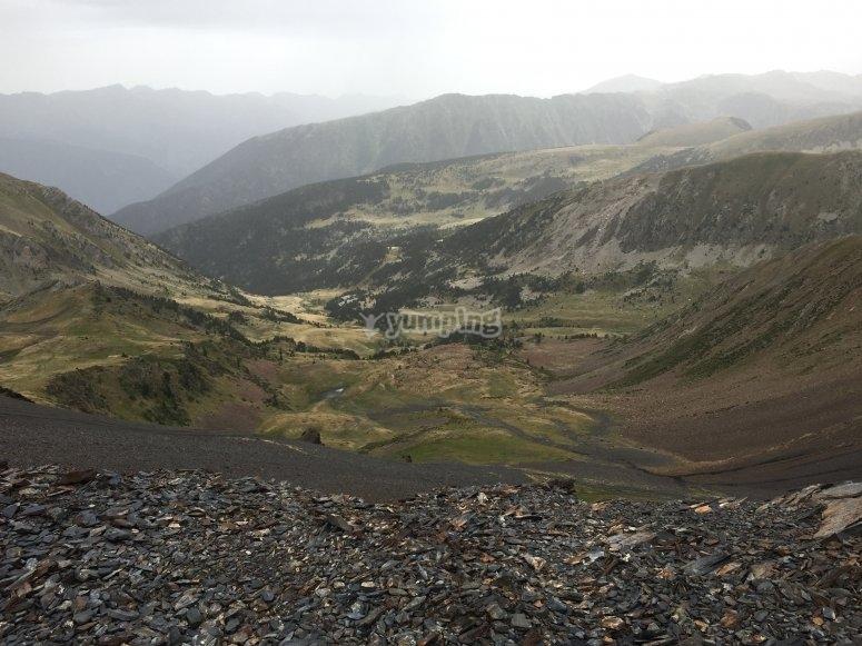 increibles vistas desde Andorra