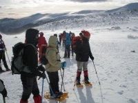 avventura sulla neve