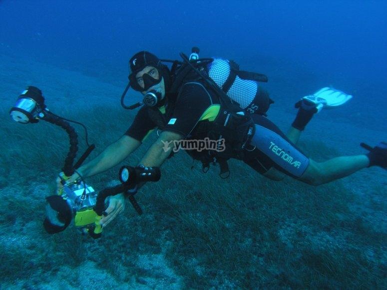 Camara submarina