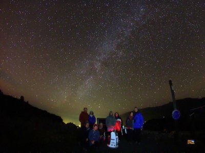 Bilingual Astronomical Workshop at Sierra Morena