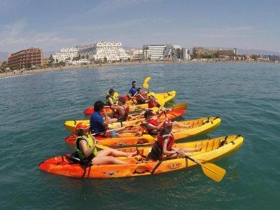Alquilar un kayak individual en Roquetas 2 horas