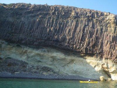 Noleggia un kayak singolo a Roquetas 2 ore