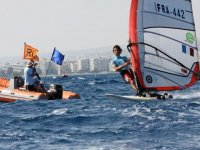 Windsurfing with monitors