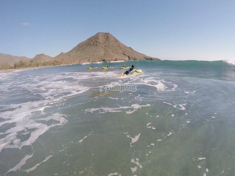Surf en Roquetas