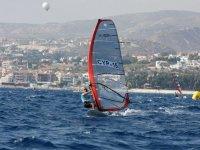 Regatta of sailboats