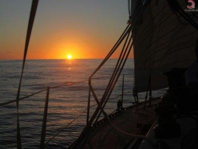 Paseo en velero en Cádiz y paella de marisco 4h