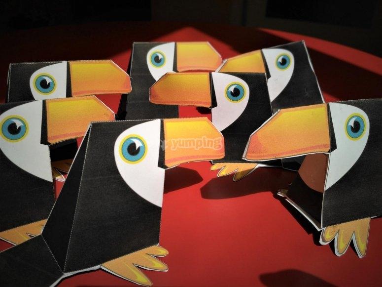 Tucanes de papel