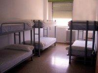 Dormitorios en literas