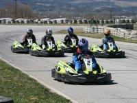 Competición karting con amigos