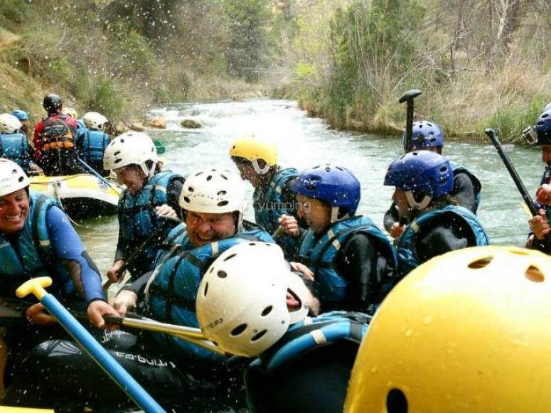 Amici rafting