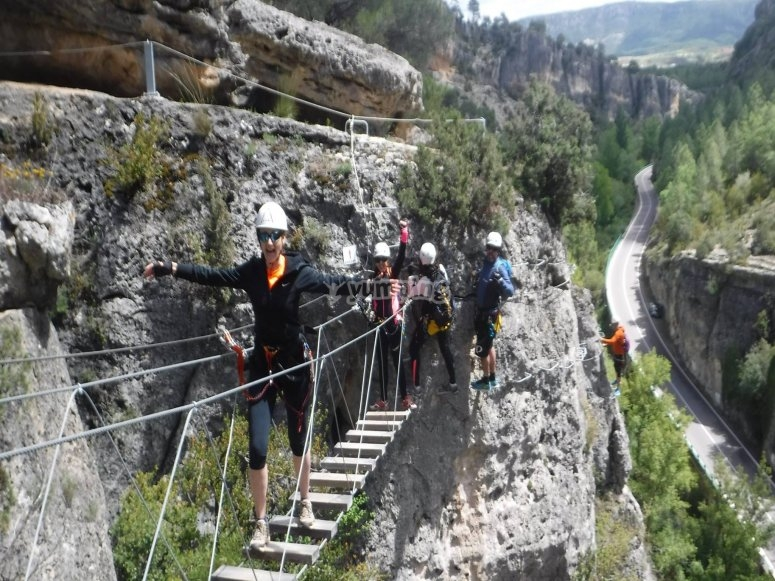 Puente de la via ferrata