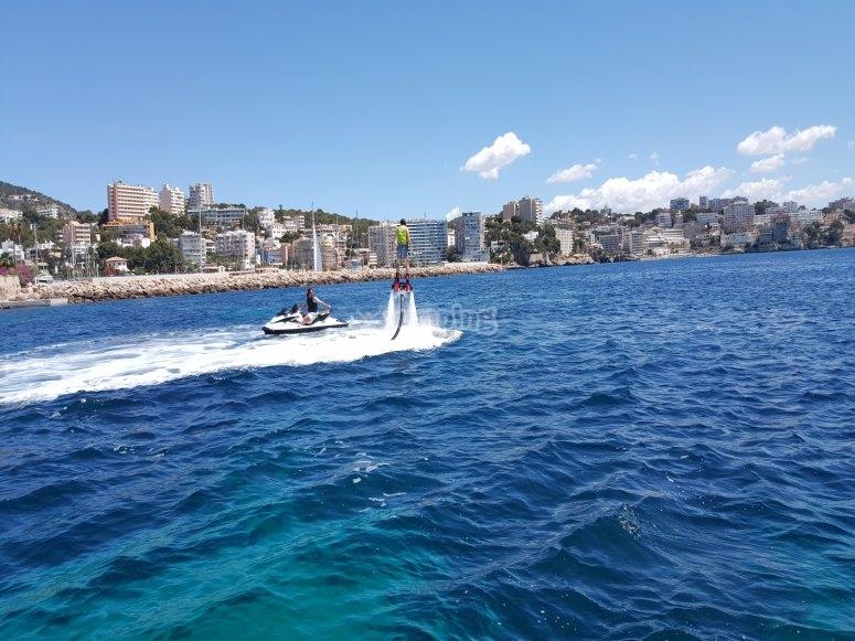 Flyboard a Mallorca