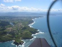 From the paragliding