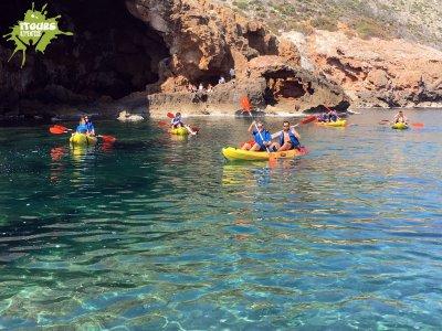 Kayak, Espeleo y Snorkel Cueva Tallada, Denia 3h