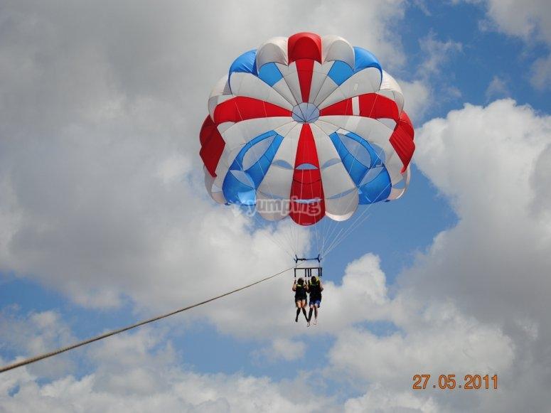 Paracadutismo a Lanzarote