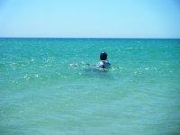 Imparare l'aquilone dall'acqua