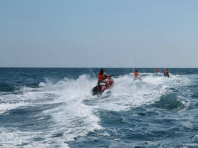Despedida solteros segway + jet ski Denia, 2h