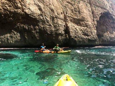 Despedidas aventura kayak+segway+jetski Denia, 4h