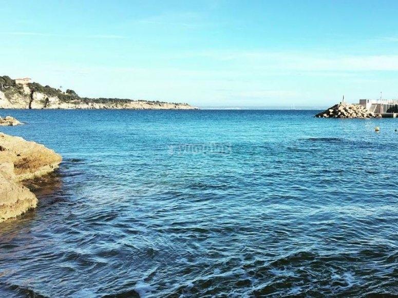 Port Calanova的景色
