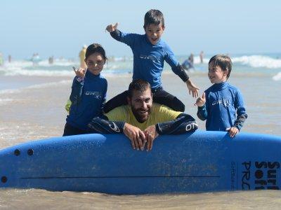 El Palmar为期3天的冲浪课程