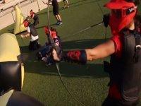 Batalla con arcos y flechas