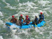 Rafting en aguas bravas