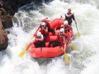 Descenso de rafting