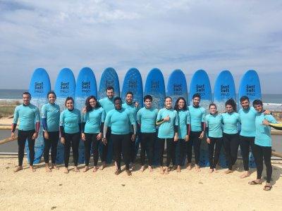 加的斯El Palmar的14小时冲浪课程