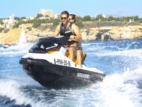 Alquiler moto de agua biplaza en Sant Agustí 2h