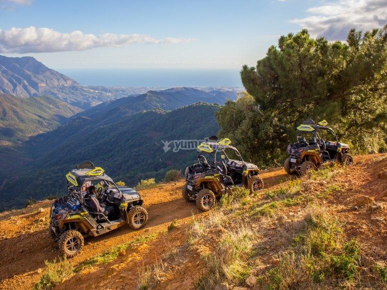 Buggies en ruta por Marbella