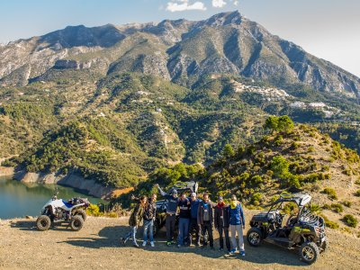 Jet ski and dune buggy package in Marbella 3 hrs