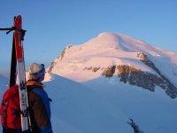 眺望布伦瓦山-勃朗峰