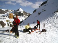 Una parada en la Chamonix - Zermatt