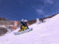 情侣滑雪板