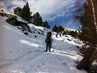 脚在雪地里走那颗支持