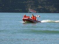 Barca sin licencia en Rialb 6 personas 2 horas