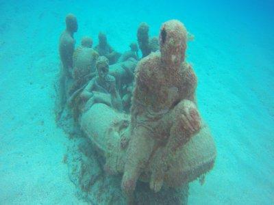 Inmersión de buceo en el Museo Atlántico Lanzarote