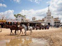 Ruta a caballo panorámica aldea de El Rocío 1h