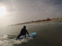6-hour surfing lessons for beginning in Gandía